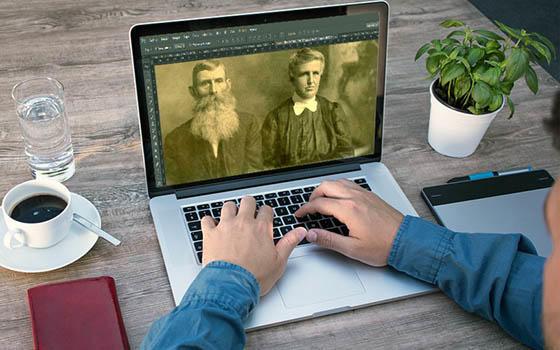Curso online de Restauración de Fotografías Antiguas con Photoshop