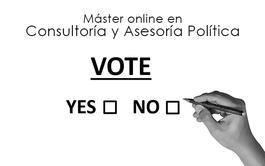 Máster online en Consultoría y Asesoría Política